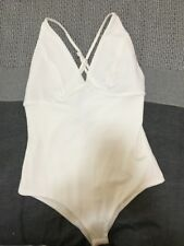 White Bodysuit, Brand New With Tags, Size 8
