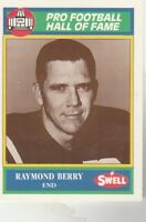 FREE SHIPPING-MINT TO NRMINT-1990 Swell Greats #91 Raymond Berry BALTIMORE COLTS