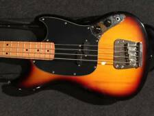 Squier MUSTANG BASS 3TS/M beautiful rare EMS F/S*