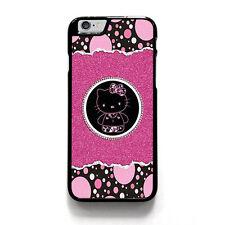 DAZZLE HELLO KITTY iPhone 4/4S 5/5S 5C 6 6S Plus SE Case Cover Plastic or Rubber