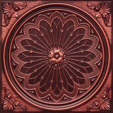 # 238 Antique Copper 2' x 2' PVC Decorative Ceiling Tile  Glue Up / Grid