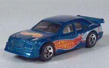 Hot Wheels 1997 Blue Mercedes C Class Race Team Series IV