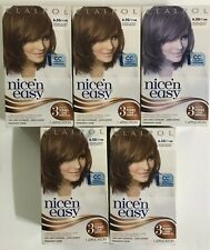 5 Clairol Natural Lightest Golden Brown Hair Color  6.5G / 114A
