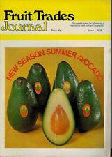 1979 1 JUNE 57337 Fruit Trades Journal Magazine  NANTES CARROT REVIEW