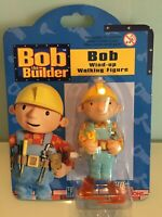 Job 3x BOB THE BUILDER RACING CHAMPIONS Bob Wind Up Walking Figure NEW SEALED