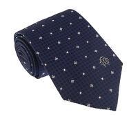 Roberto Cavalli ESZ018 04500 Blue Micro Geometric Tie