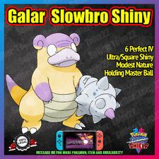 Galar SLOWBRO Shiny | HIDDEN ABILITY | Master Ball | 6IV | Pokemon Sword Shield
