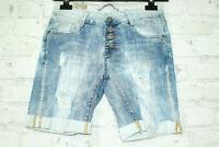 Made in Italy Shorts Bermuda Jeans Jogger Joggpant blogger Hose Gr. S 34/36 NEU