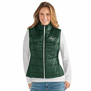 G-III For Her New York Jets Women's Wing Back Vest - Green