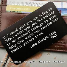 Personalised Valentines Gift for Him Her Boyfriend Girlfriend Husband Wife U11