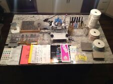 Howard Personalizer Hot Foil Imprinting Machine w/ Fonts, Foil, & Attachments