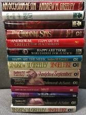 Lot Of 14 Andrew Greeley Book Club Edition Hardcovers
