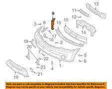 KIA OEM 03-06 Sorento Front Bumper-Bumper Cover Side Bracket Left 865913E001
