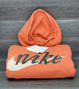 Nike x Cactus Plant Flea Market Shoebox Hoodie, Orange | Men's Size Medium [new]