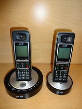 BT 6510 Twin Telephone Home House DECT Phone with Answer Machine -BX