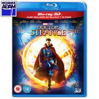 DOCTOR STRANGE Blu-ray 3D + 2D (REGION-FREE)