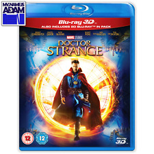 MARVEL - DOCTOR STRANGE Blu-ray 3D + 2D (REGION FREE)