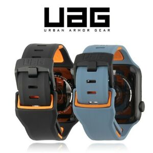 UAG Civilian Silicone Strap Apple Watch 6 - 1 Series 44/42mm Band Waterproof