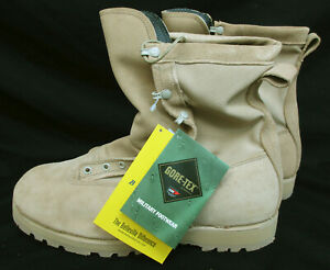 Tan Belleville Combat Boots 790G Insulated Waterproof Made in USA 13 Extra-Wide