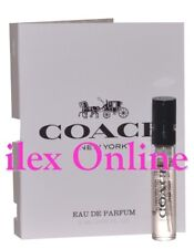 COACH NEW YORK EAU DE PARFUM MINIATURE FRAGRANCE VIAL *TRAVEL/GYM BAG/HANDBAG*