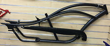 "26"" Stretch Beach Cruiser Bike Bicycle Bronco Frame Matte Black"