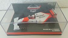 PMA MINICHAMPS 1:43 M. Brundle McLaren mp4/9 PEUGEOT 1994 formula 1 Top