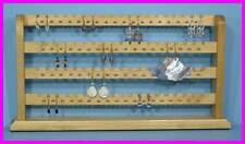 * Finished Wood Earring 148 Pc Jewelry Rack Display NEW