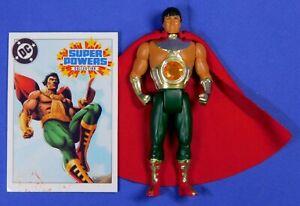 CUSTOM DC KENNER SUPER POWERS EL DORADO FIGURE WITH CARD