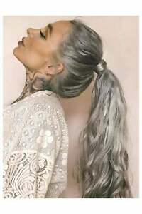 """Foxy Locks Clip In Human Remy Wrap Ponytail Hair Extension - 20+ Shades - 12-26"""""""