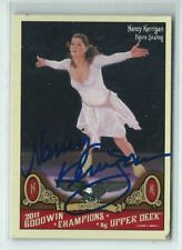 Nancy Kerrigan Signed 2011 Upper Deck Goodwin Champions Card #61 Figure Skating