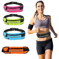 Unisex Running Belt Sport Jogging Key Mobile Money Bum Bag Waist Travel Pouch