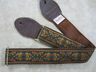 SOULDIER Guitar Strap Celtic Highlands BRAVEHEART brown green / Vintage Style