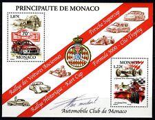 2002 MONACO BLOC N°86 DENTELE ACM RALLYE-GRAND PRIX HISTORIQUE SIGNE DE ARTISTE