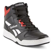 b1fd0a12804b New Mens Reebok BB4500 Medium Black Red High-Top Leather Basketball Shoe  Throwba