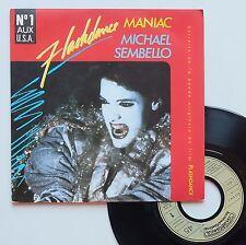 "Vinyle 45T Michael Sembello  ""Maniac - Flashdance"""