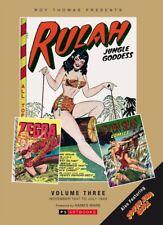 Roy Thomas Presents Rulah Jungle Goddess Vol. 3 Hardcover 2015