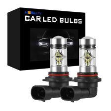 9005 HB3 200W 20SMD LED Fog Light Bulbs Car Driving Lamp DRL 6000K White Globe