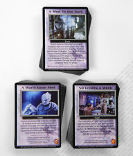 Babylon 5 CCG Severed Dreams Complete Set of 150 Cards 50 Rare M/NM Mint/Near
