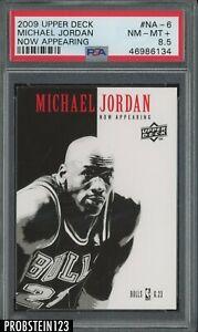 2009-10 Upper Deck UD Now Appearing Michael Jordan Chicago Bulls HOF PSA 8.5