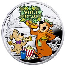 Sterling Silver Coin $1 – Cartoon Characters: Yogi Bear (2014)