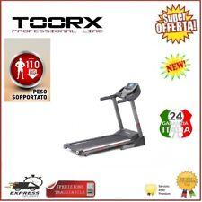 Toorx Racer HRC Tapis Roulant Elettrico Motorrizzato 2/3 HP Ammortizzato Fitness