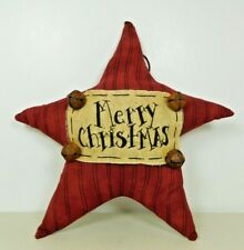 Small Christmas Pillow Merry Christmas that can hang - New by Honey & Me #C323