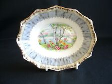 Royal Albert - Silver Birch - Oval Sweets or  Relish Dish