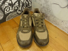 Puma CPC-1006 Brown Leather/Canvas Sneakers 9.5