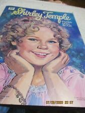 SHIRLEY TEMPLE PAPER DOLL BOOK  1976