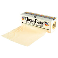 Thera Band ORIGINAL Übungsband Fitnessband Physioband 5,5 m, extra leicht, BEIGE