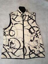 Vintage Lauren Ralph Lauren Reversible Diamond Quilted Equestrian Vest Medium