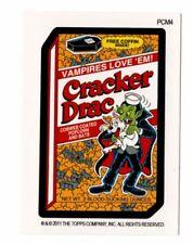 2011 Topps Wacky Packages Cracker Drac Mini Postcards Bonus Halloween Card PCM4