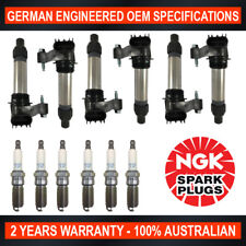 6x Genuine NGK Iridium Spark Plugs & 6x Ignition Coils Holden Commodore VE VF
