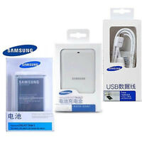 Original Battery&Charger&Cable for Samsung Galaxy NOTE 3 B800BU/B800BC N9000 NFC